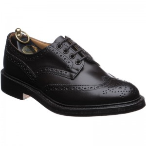 trickers bourton in espresso calf