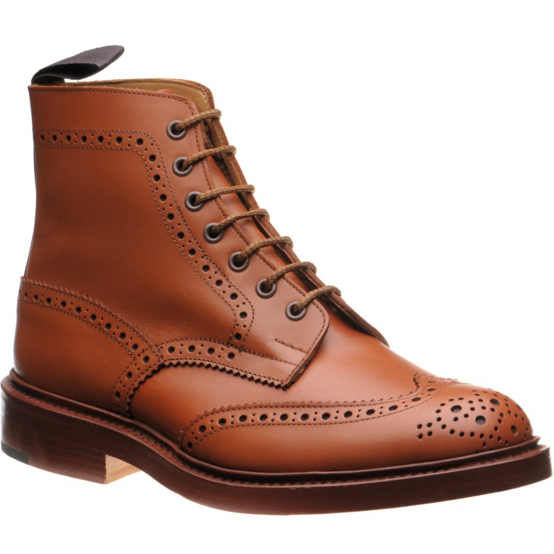 Stow brogue boots