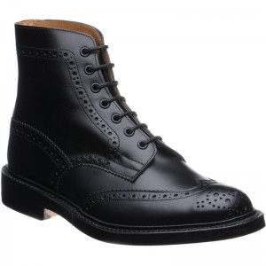 trickers stow in black calf