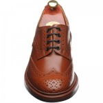 Bourton  rubber-soled brogues