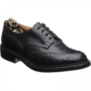 trickers bourton rubber in espresso calf