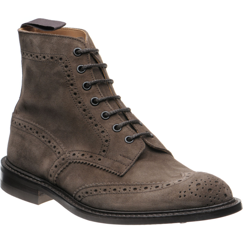 Stow  rubber-soled brogue boots