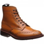 Trickers Stow  rubber-soled brogue boots