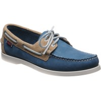 Sebago Spinnaker rubber-soled deck shoes