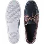 Sebago Spinnaker rubber-soled deck shoes