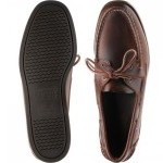 Sebago Dockside Portland rubber-soled deck shoes