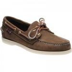 Sebago Dockside Portland rubber-soled deck shoes
