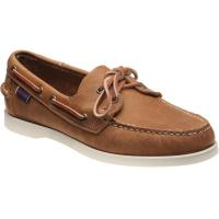 sebago dockside portland in brown tan