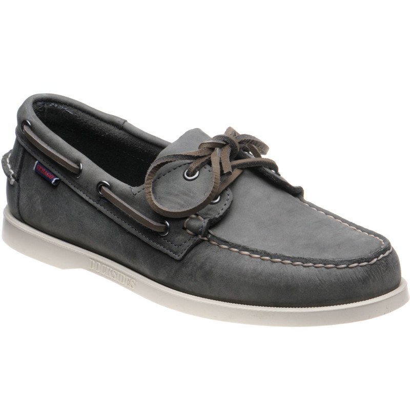 Dockside Portland rubber-soled deck shoes