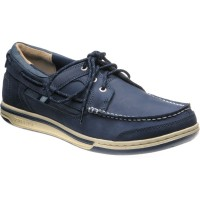 Sebago Triton Three Eye rubber-soled deck shoes