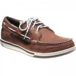 Sebago Triton Three Eye rubber-soled deck shoes