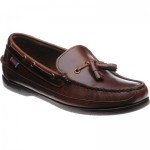 Ketch rubber-soled deck shoes