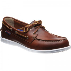 Litesides Two Eye in Brown Oiled Waxy Leather