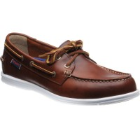 Sebago Litesides Two Eye rubber-soled deck shoes