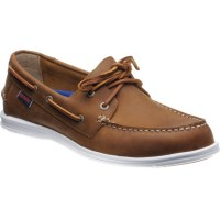 Sebago Litesides Two Eye rubber-soled deck shoes