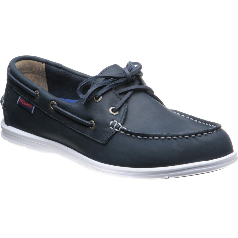 Litesides Two Eye rubber-soled deck shoes