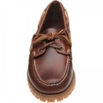 Sebago Ranger Waxy rubber-soled deck shoes