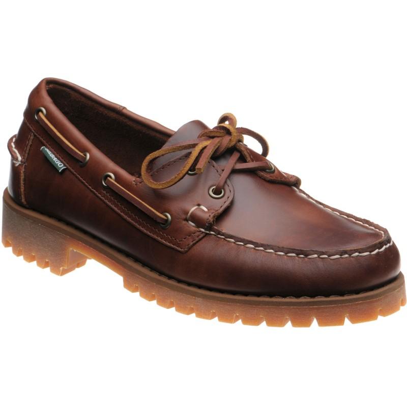 Sebago Ranger Waxy rubber-soled deck shoes