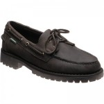 Sebago Ranger Tumbled rubber-soled deck shoes