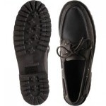 Ranger Tumbled rubber-soled deck shoes