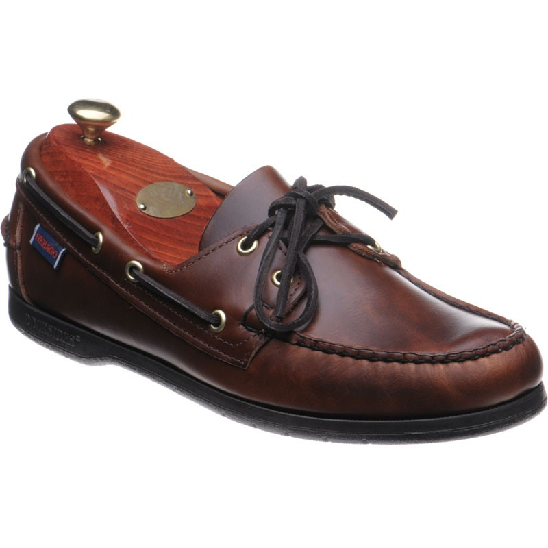 Endeavor rubber-soled deck shoes in