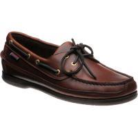 Schooner rubber-soled deck shoes