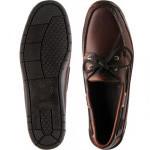 Sebago Schooner  rubber-soled deck shoes