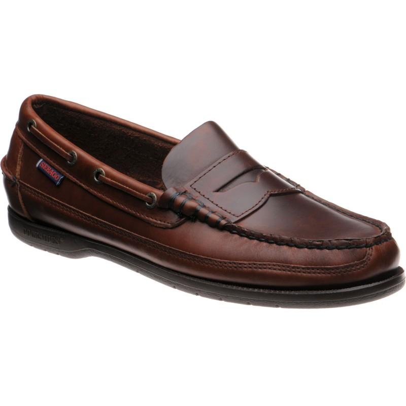 Sebago Sloop rubber-soled deck shoes