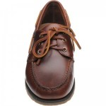 Foresider rubber-soled deck shoes