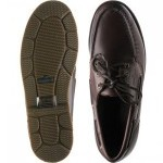 Sebago Foresider rubber-soled deck shoes