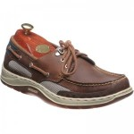 Clovehitch rubber-soled deck shoes