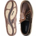 Sebago Clovehitch rubber-soled deck shoes