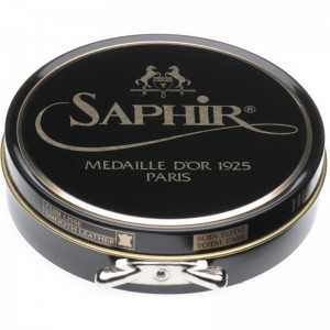 saphir pate de luxe high gloss polish 100ml in black
