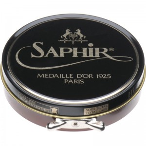 saphir pate de luxe high gloss polish 100ml in light brown
