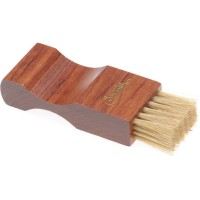 saphir saphir pommadier brush for jars 9cm in dark wood pale bristle