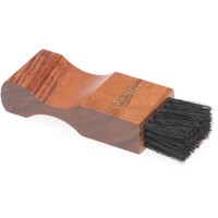 saphir saphir pommadier brush for jars 9cm in dark wood dark bristle