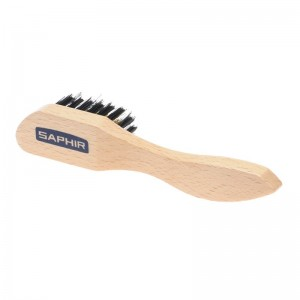 Saphir Brass Suede Brush