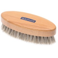 saphir saphir oval brush in pale bristle