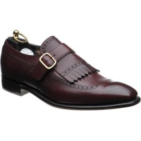 wildsmith faith in burgundy calf