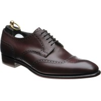wildsmith grant in burgundy calf