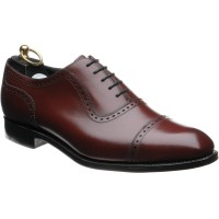 wildsmith pimlico in cherry calf