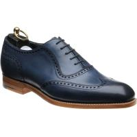 wildsmith sloane in navy calf