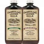 Leather Milk No. 2 and No. 6 Clean and Condition Set