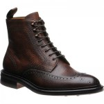 Carlos Santos 8922 rubber-soled brogue boots