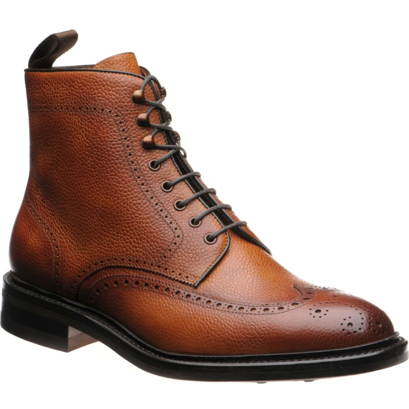 8922 rubber-soled brogue boots