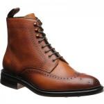 Carlos Santos 8922 rubber-soled brogue boots