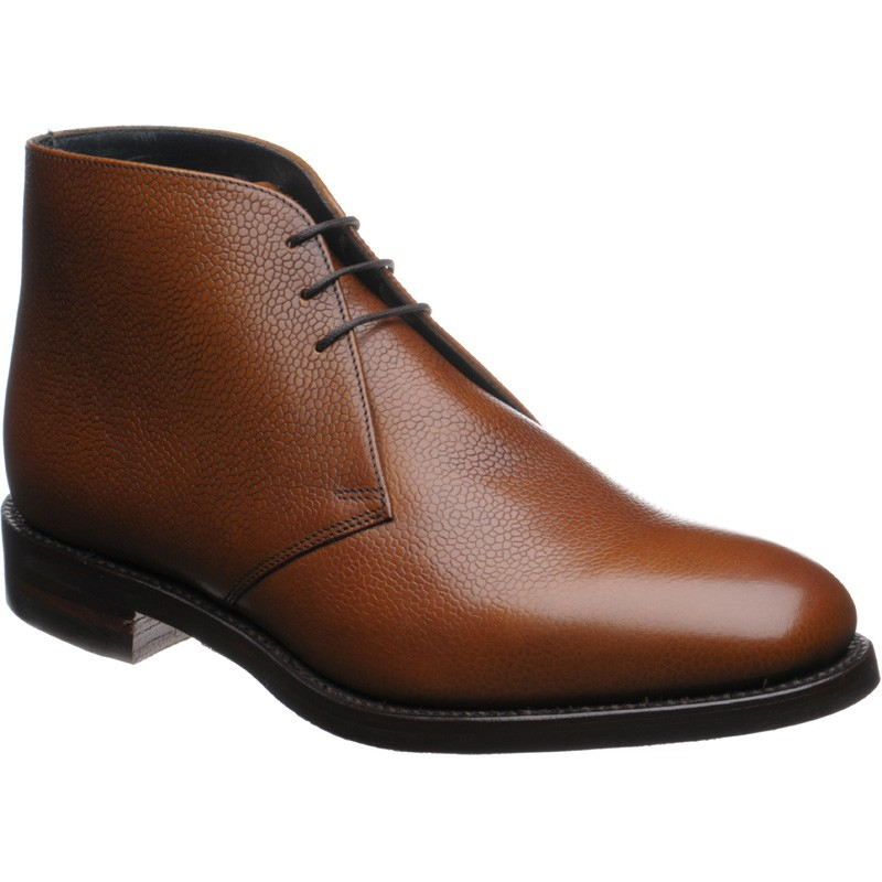 Herring Gosforth II  rubber-soled Chukka boots