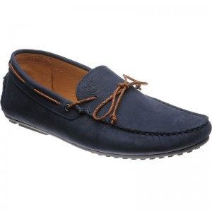 Herring Bolzano rubber-soled driving moccasins