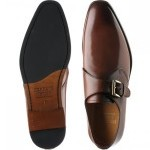 Enfield rubber-soled monk shoes