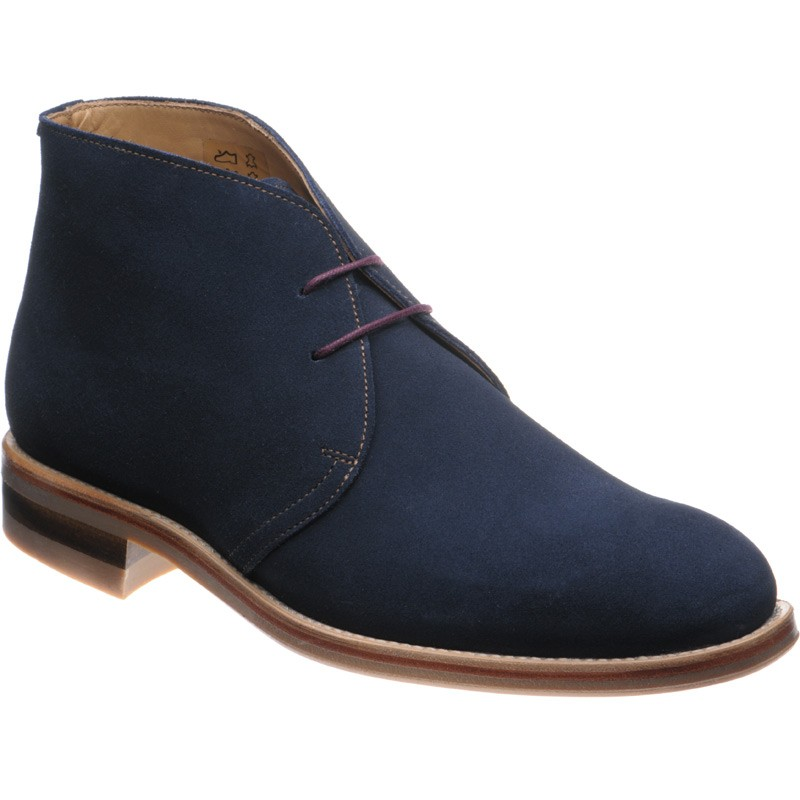 Herring Canterbury rubber-soled Chukka boots